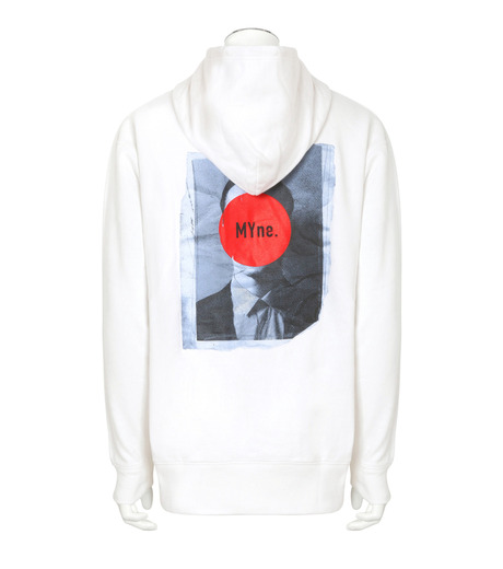 MYne(マイン)のFace Printed Hoodie-WHITE(トップス/tops)-MYC8C415-4 詳細画像2