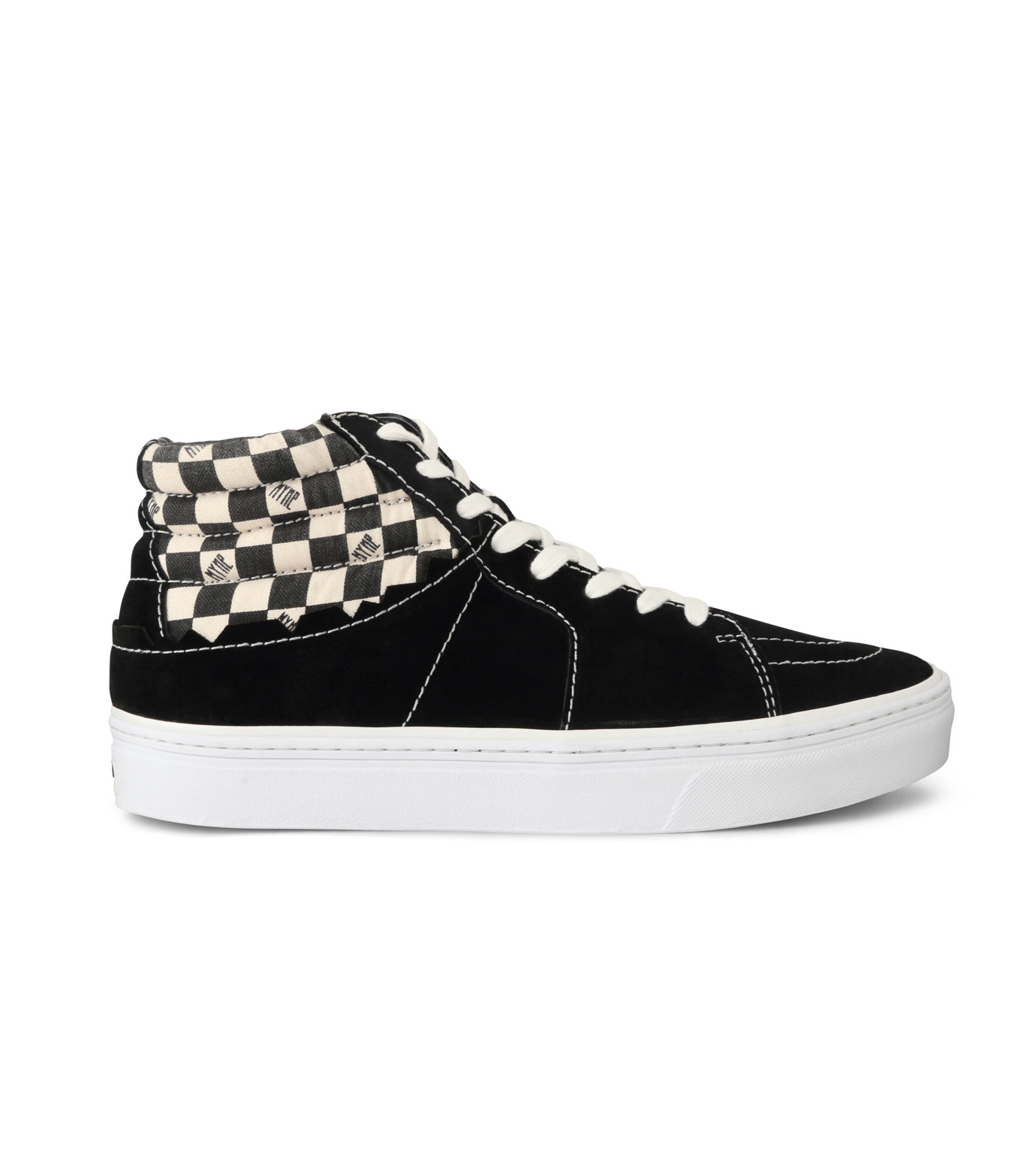 MYne(マイン)のHybrid Hicut Sneaker-BLACK(スニーカー/sneaker)-MYS8-0004-13 拡大詳細画像1