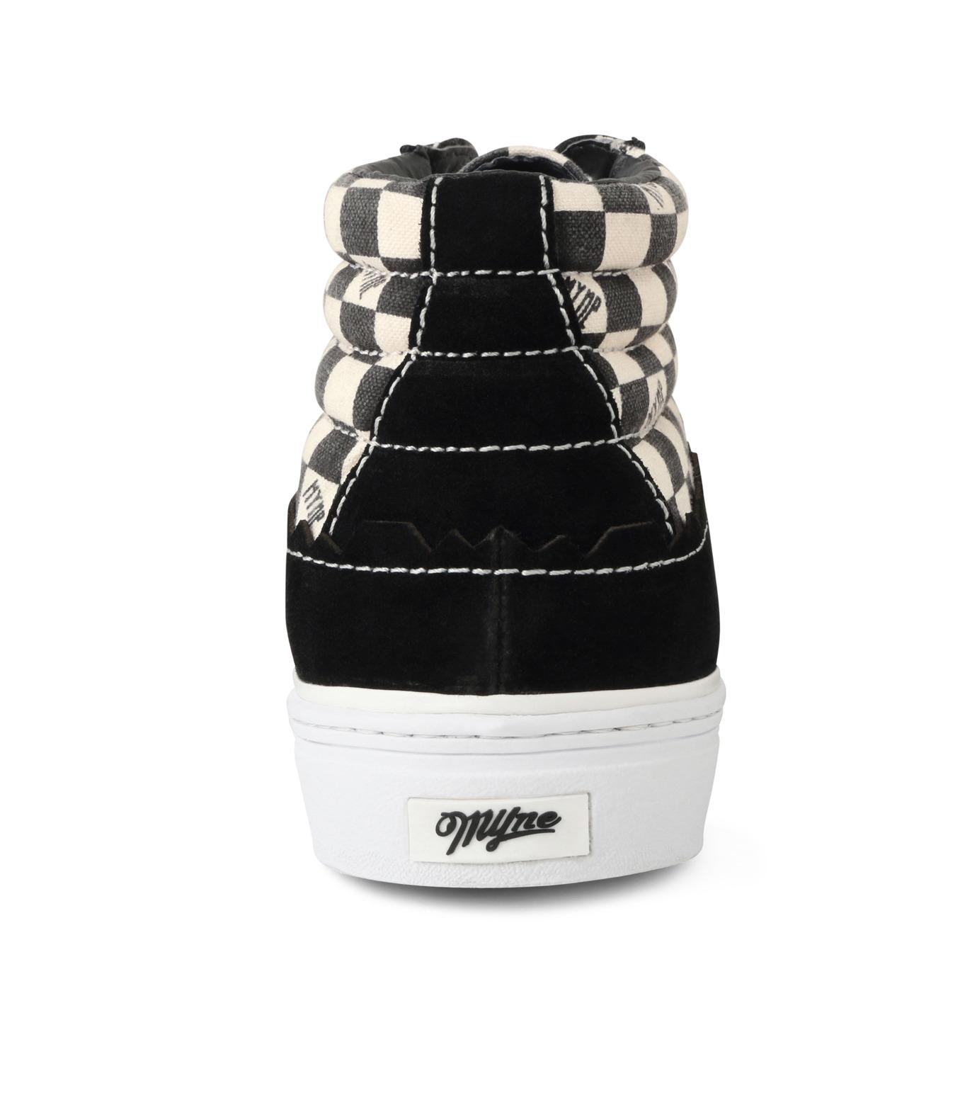 MYne(マイン)のHybrid Hicut Sneaker-BLACK(スニーカー/sneaker)-MYS8-0004-13 拡大詳細画像2