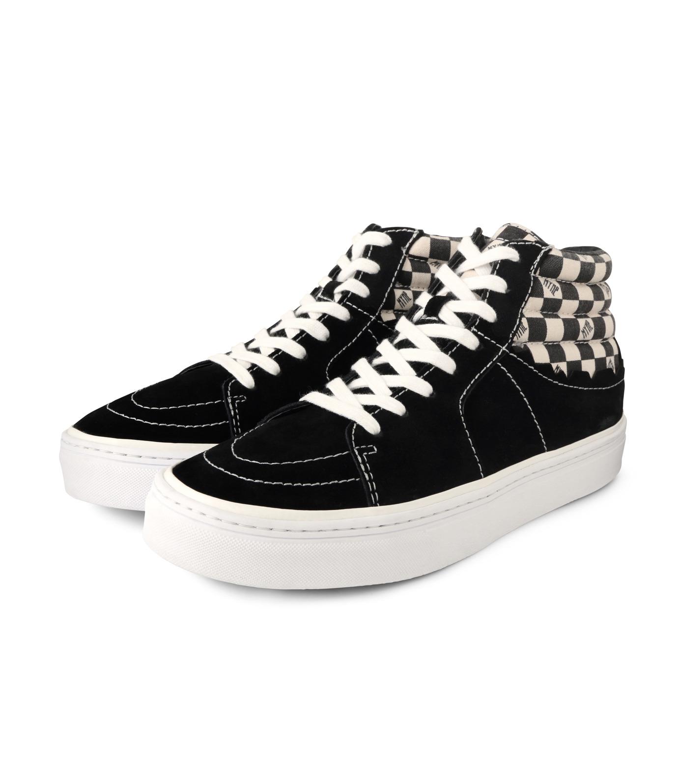 MYne(マイン)のHybrid Hicut Sneaker-BLACK(スニーカー/sneaker)-MYS8-0004-13 拡大詳細画像3