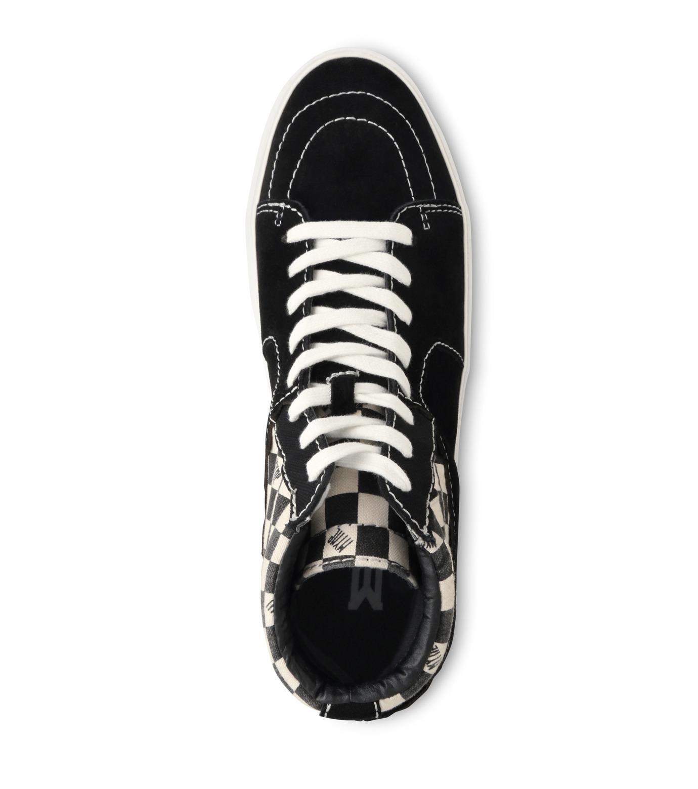 MYne(マイン)のHybrid Hicut Sneaker-BLACK(スニーカー/sneaker)-MYS8-0004-13 拡大詳細画像4