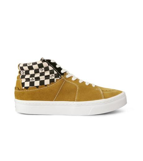 MYne(マイン)のHybrid Hicut Sneaker-YELLOW(スニーカー/sneaker)-MYS8-0004-32 詳細画像1
