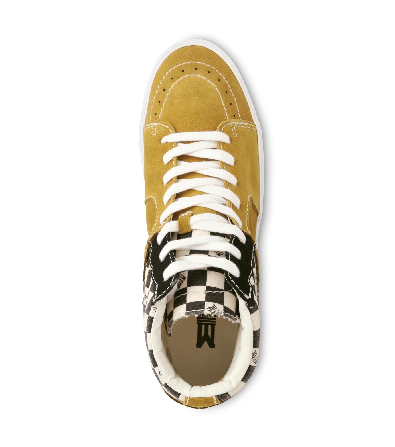 MYne(マイン)のHybrid Hicut Sneaker-YELLOW(スニーカー/sneaker)-MYS8-0004-32 拡大詳細画像4