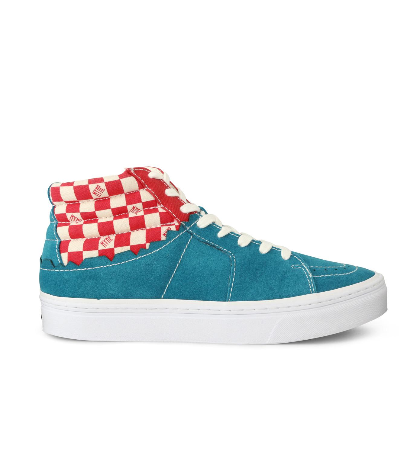 MYne(マイン)のHybrid Hicut Sneaker-BLUE(スニーカー/sneaker)-MYS8-0004-92 拡大詳細画像1