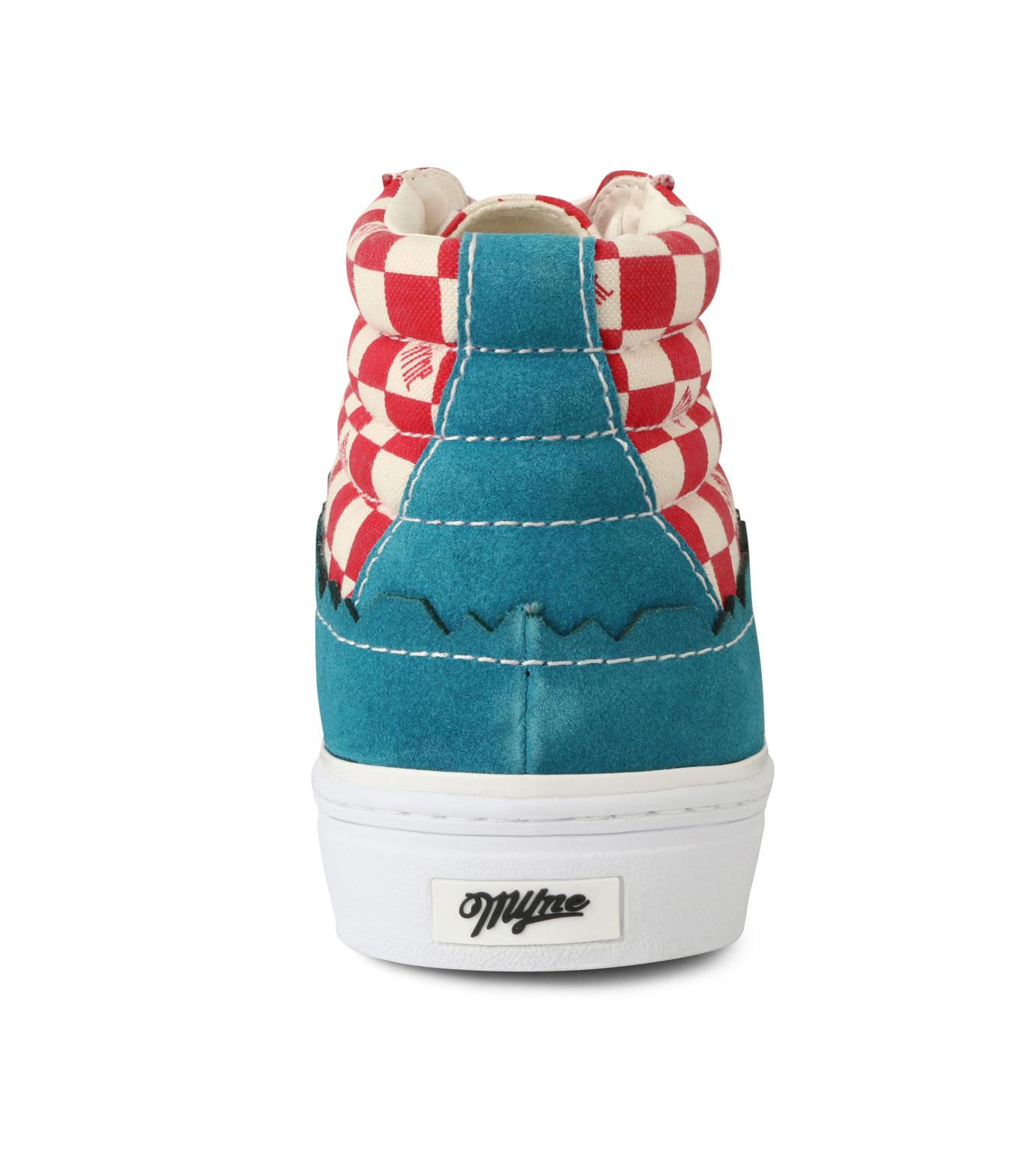 MYne(マイン)のHybrid Hicut Sneaker-BLUE(スニーカー/sneaker)-MYS8-0004-92 拡大詳細画像2