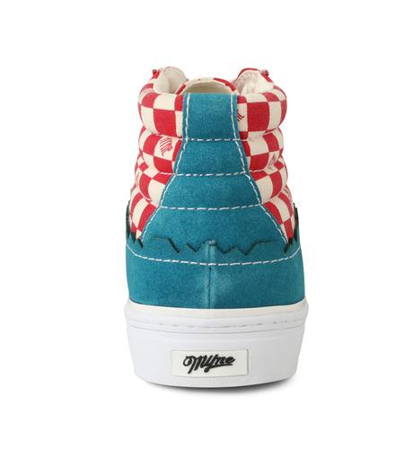 MYne(マイン)のHybrid Hicut Sneaker-BLUE(スニーカー/sneaker)-MYS8-0004-92 詳細画像2