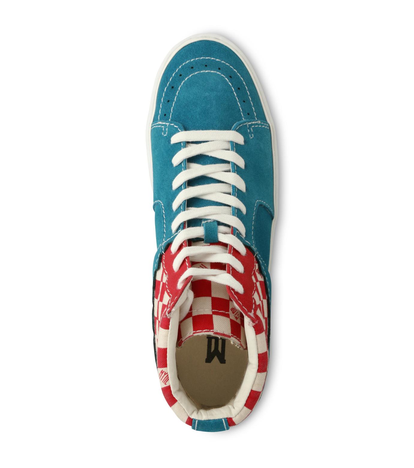 MYne(マイン)のHybrid Hicut Sneaker-BLUE(スニーカー/sneaker)-MYS8-0004-92 拡大詳細画像4