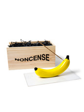 NONCENSE(ノンセンス) Noncesne Banana ceramic incense burner
