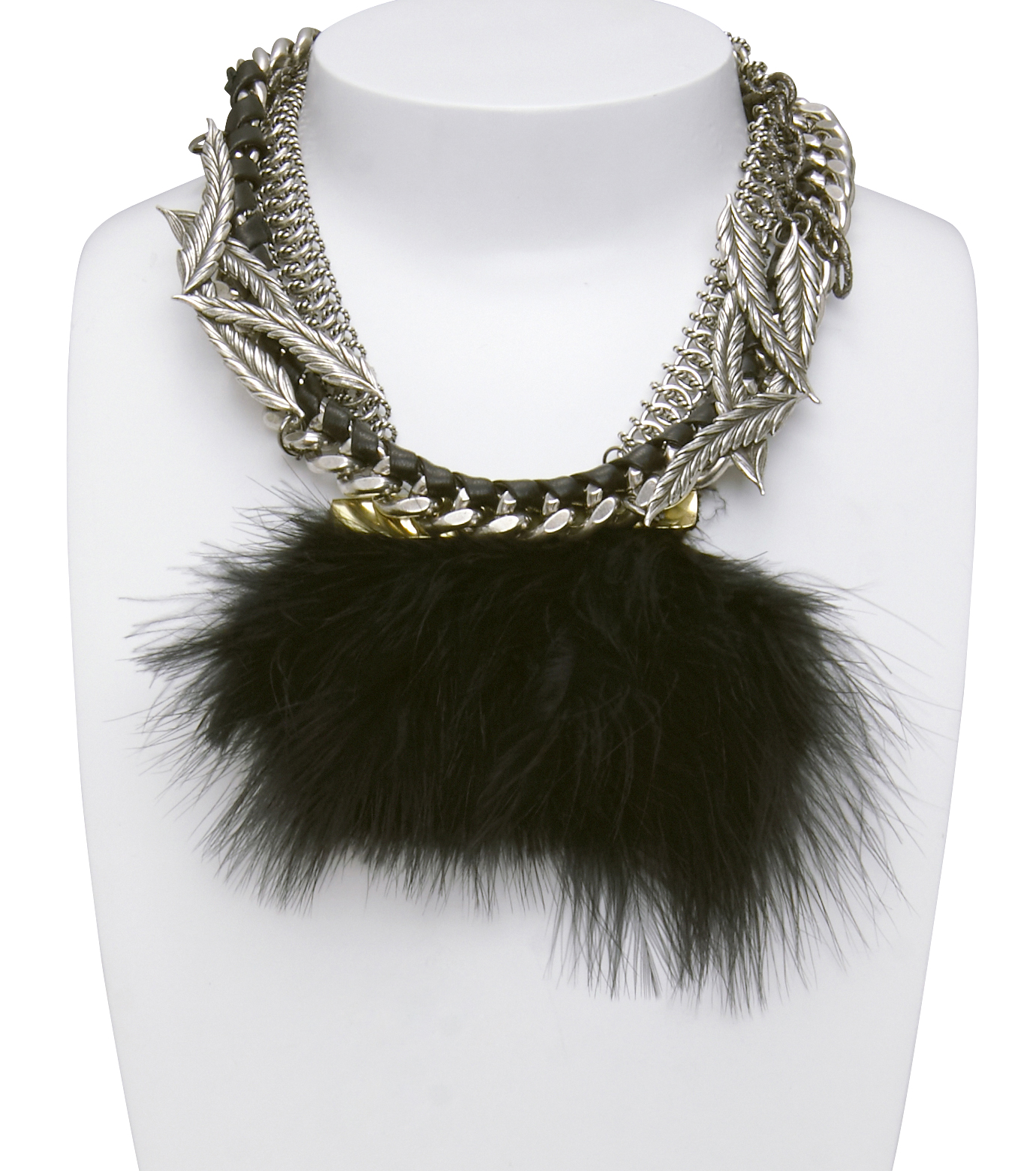 Feather/Leaf Collar-13