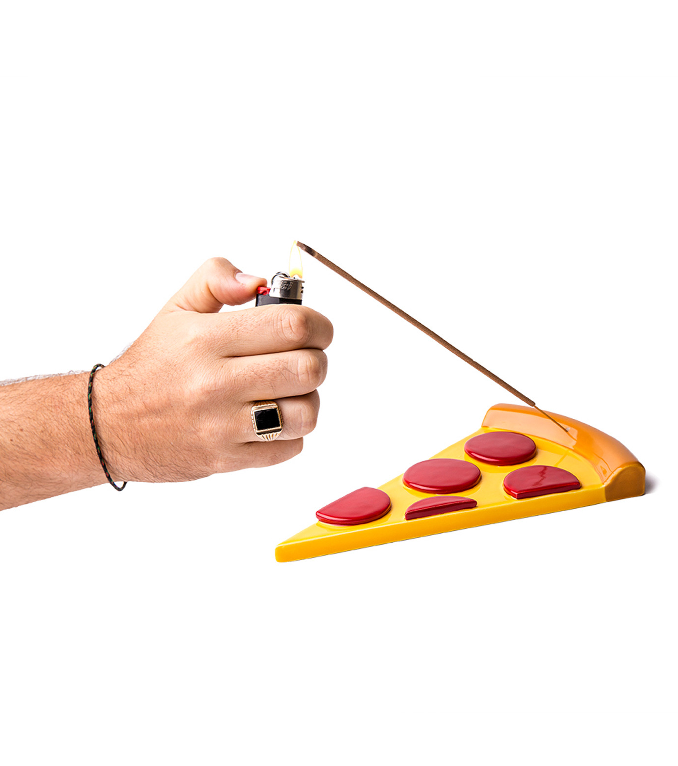 NONCENSE(ノンセンス)のNoncesne Pizza ceramic incense burner-MULTI COLOUR(インテリア/interior)-N2-9 拡大詳細画像1