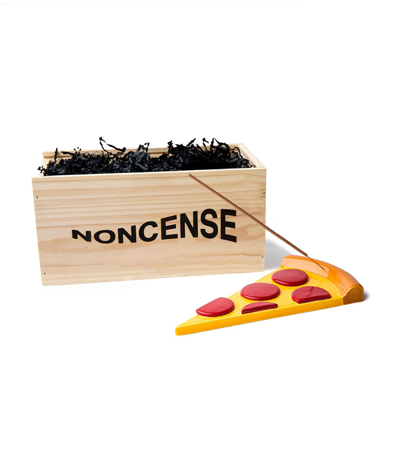 NONCENSE(ノンセンス)のNoncesne Pizza ceramic incense burner-MULTI COLOUR(インテリア/interior)-N2-9 拡大詳細画像3