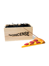 NONCENSE Noncesne Pizza ceramic incense burner