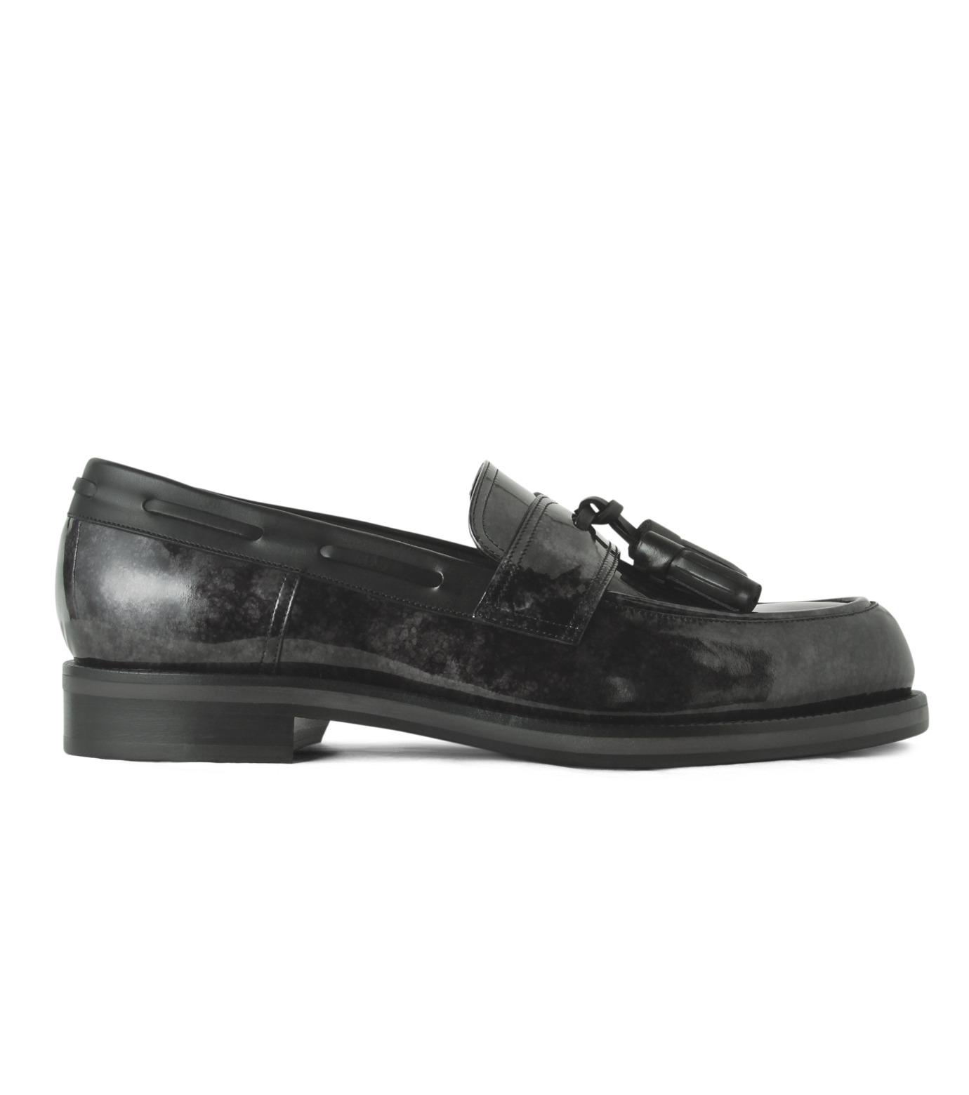 Jimmy Choo(ジミーチュウ)のMarble Patent-BLACK(シューズ/shoes)-NATHAN-MBP-13 拡大詳細画像1
