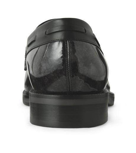 Jimmy Choo(ジミーチュウ)のMarble Patent-BLACK(シューズ/shoes)-NATHAN-MBP-13 詳細画像2