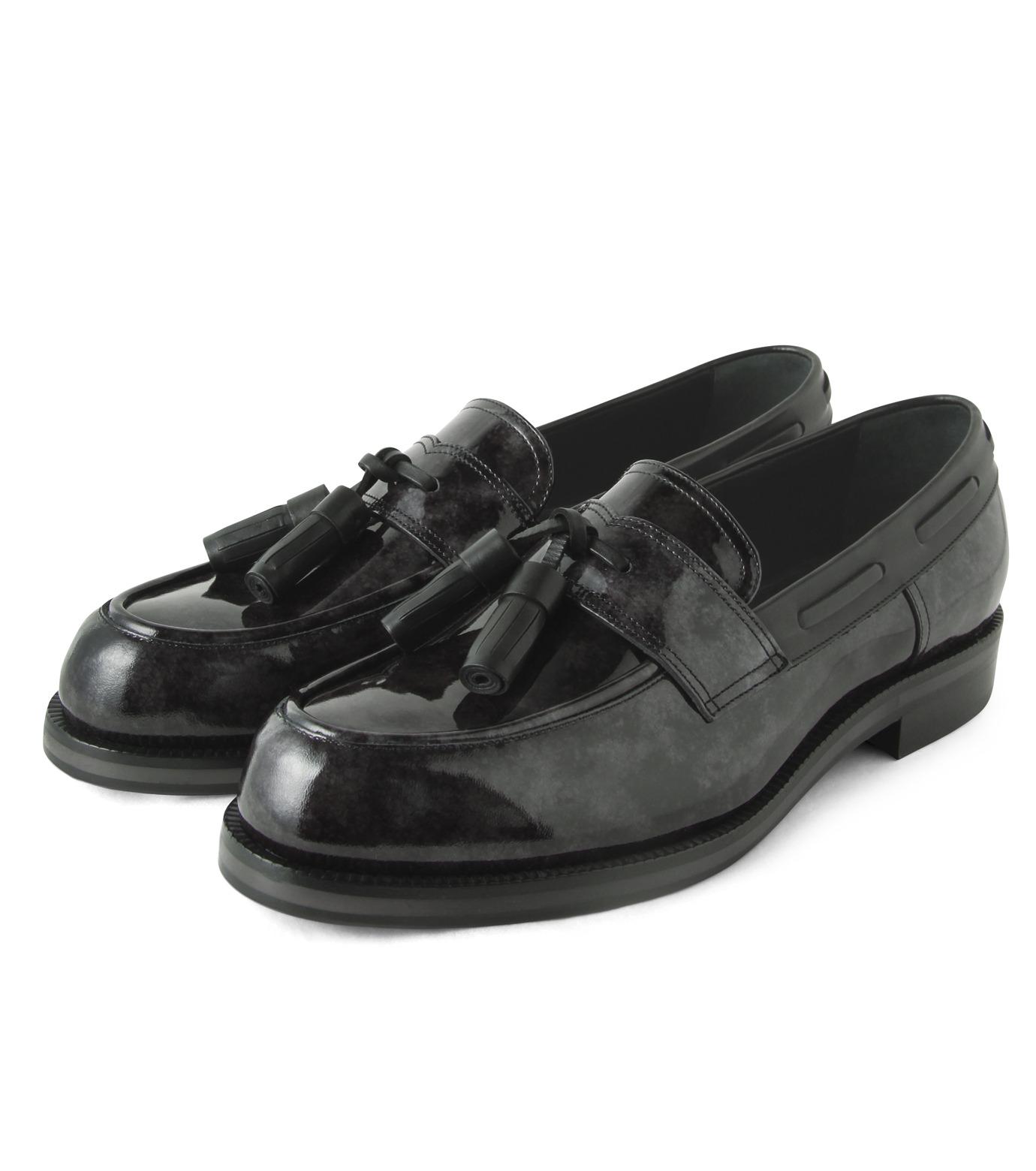 Jimmy Choo(ジミーチュウ)のMarble Patent-BLACK(シューズ/shoes)-NATHAN-MBP-13 拡大詳細画像3
