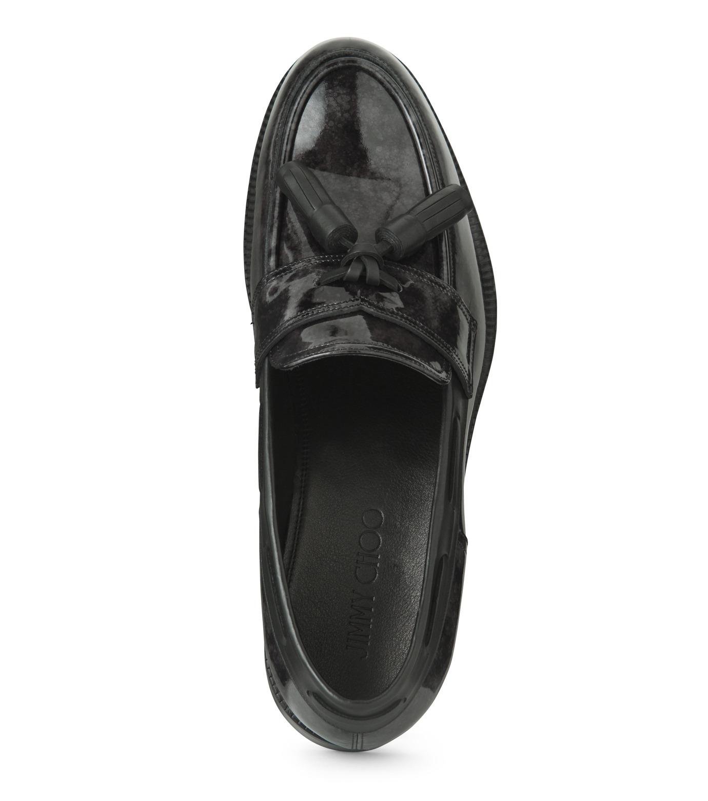 Jimmy Choo(ジミーチュウ)のMarble Patent-BLACK(シューズ/shoes)-NATHAN-MBP-13 拡大詳細画像4