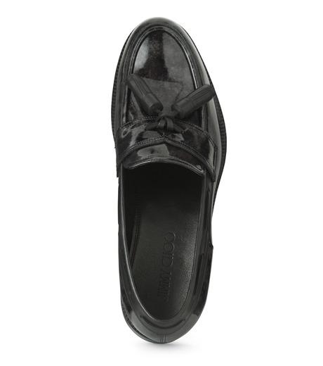 Jimmy Choo(ジミーチュウ)のMarble Patent-BLACK(シューズ/shoes)-NATHAN-MBP-13 詳細画像4