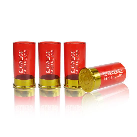 Mustard(マスタード)の12 gauge shot glass-RED(キッチン/kitchen)-NG5014-62 詳細画像1