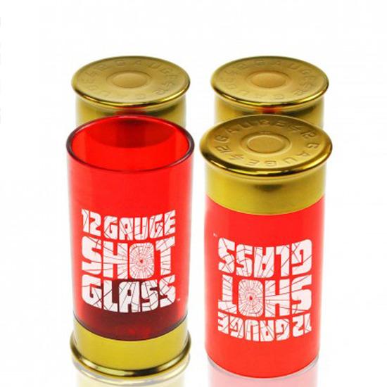 Mustard(マスタード)の12 gauge shot glass-RED(キッチン/kitchen)-NG5014-62 詳細画像3