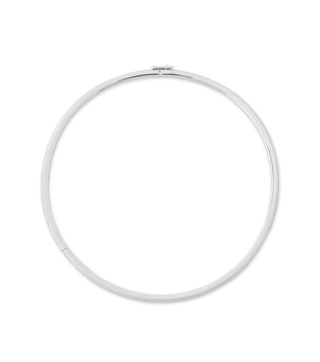 Eddie Borgo(エディ・ボルゴ)のPeaked Link Collar-SILVER(ネックレス/necklace)-NK1533-1 詳細画像1