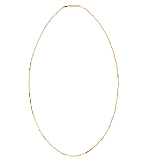 Eddie Borgo(エディ・ボルゴ)のSmall Peaked Link Necklace-GOLD(ネックレス/necklace)-NK1956-2 詳細画像1