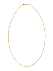 Eddie Borgo Small Peaked Link Necklace