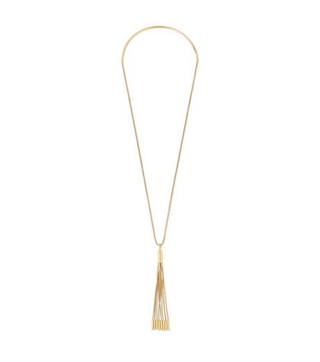 Eddie Borgo(エディ・ボルゴ)のNeo Tassel Pendant-GOLD(ネックレス/necklace)-NK2010-2 詳細画像1