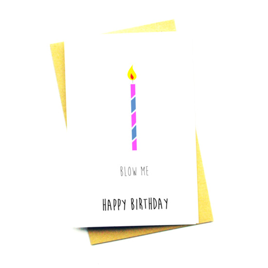 NOCTURNAL PAPER()のBLOW ME HAPPY BIRTHDAY-WHITE(OTHER-GOODS/OTHER-GOODS)-NP-08-4 詳細画像1