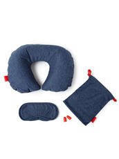 npw() Blue In Flight Kit - Blue Marl