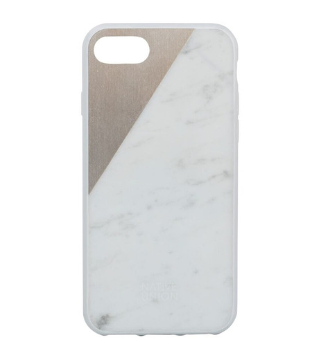 Native Union(ネイティブ ユニオン)のCLIC Marble-WHITE(ケースiphone7/7plus/case iphone7/7plus)-NU-C-MB-7-02-4 詳細画像1