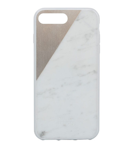Native Union(ネイティブ ユニオン)のCLIC Marble for 7 plus-WHITE(ケースiphone7/7plus/case iphone7/7plus)-NU-C-MB-7P-2-4 詳細画像1
