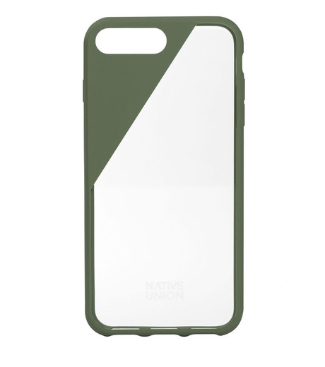 Native Union(ネイティブ ユニオン)のCLIC Crystal for 7plus-GREEN(ケースiphone7/7plus/case iphone7/7plus)-NU-CCR-7P-01-22 詳細画像1