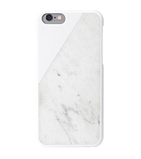 Native Union(ネイティブ ユニオン)のC.MARBLE-iPHONE6/6S CASE-WHITE-HG-WHITE(ケースiphone6/6s/case iphone6/6s)-NU-CM-IP6-02-4 詳細画像1