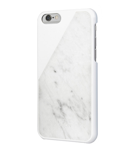 Native Union(ネイティブ ユニオン)のC.MARBLE-iPHONE6/6S CASE-WHITE-HG-WHITE(ケースiphone6/6s/case iphone6/6s)-NU-CM-IP6-02-4 詳細画像2