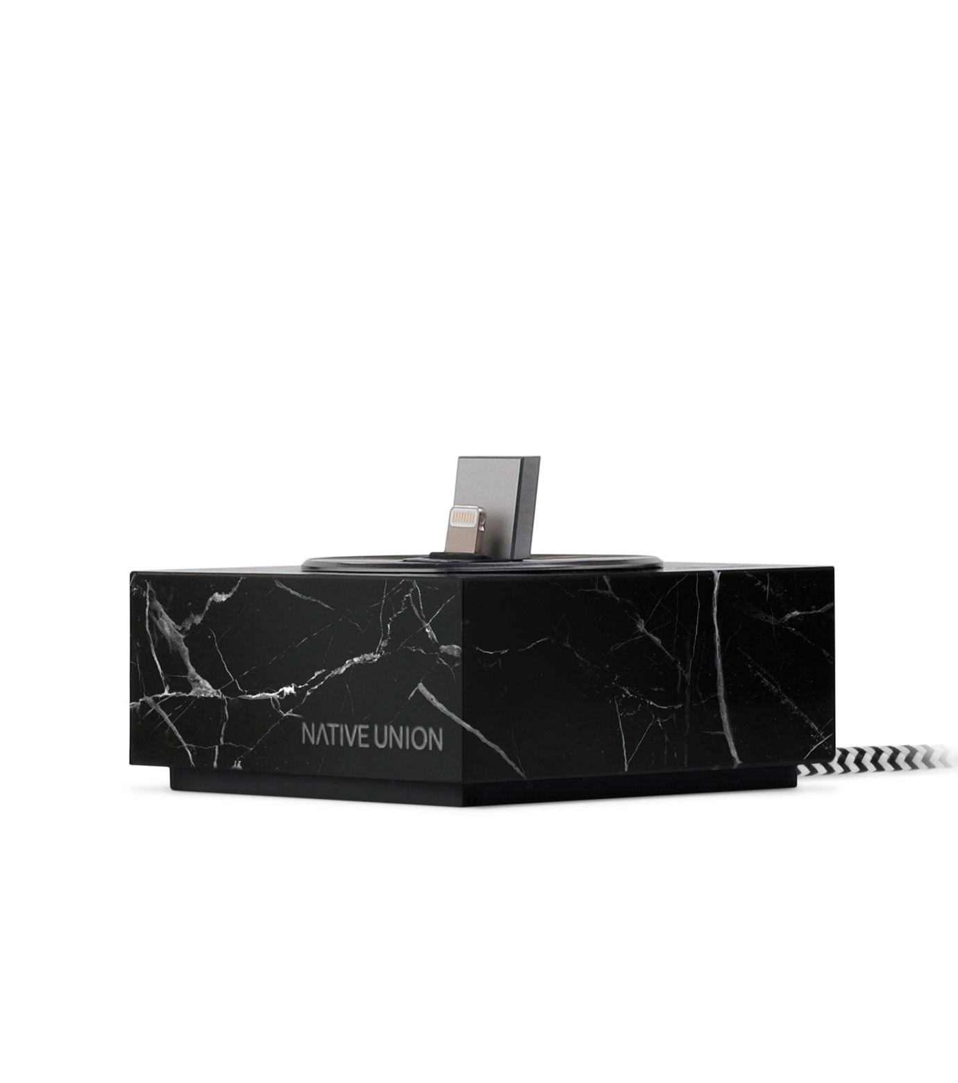 Native Union(ネイティブ ユニオン)のDOCK FOR IPHONE MARBLE-BLACK(ガジェット/gadgets)-NU-DOCK-IP01-13 拡大詳細画像4
