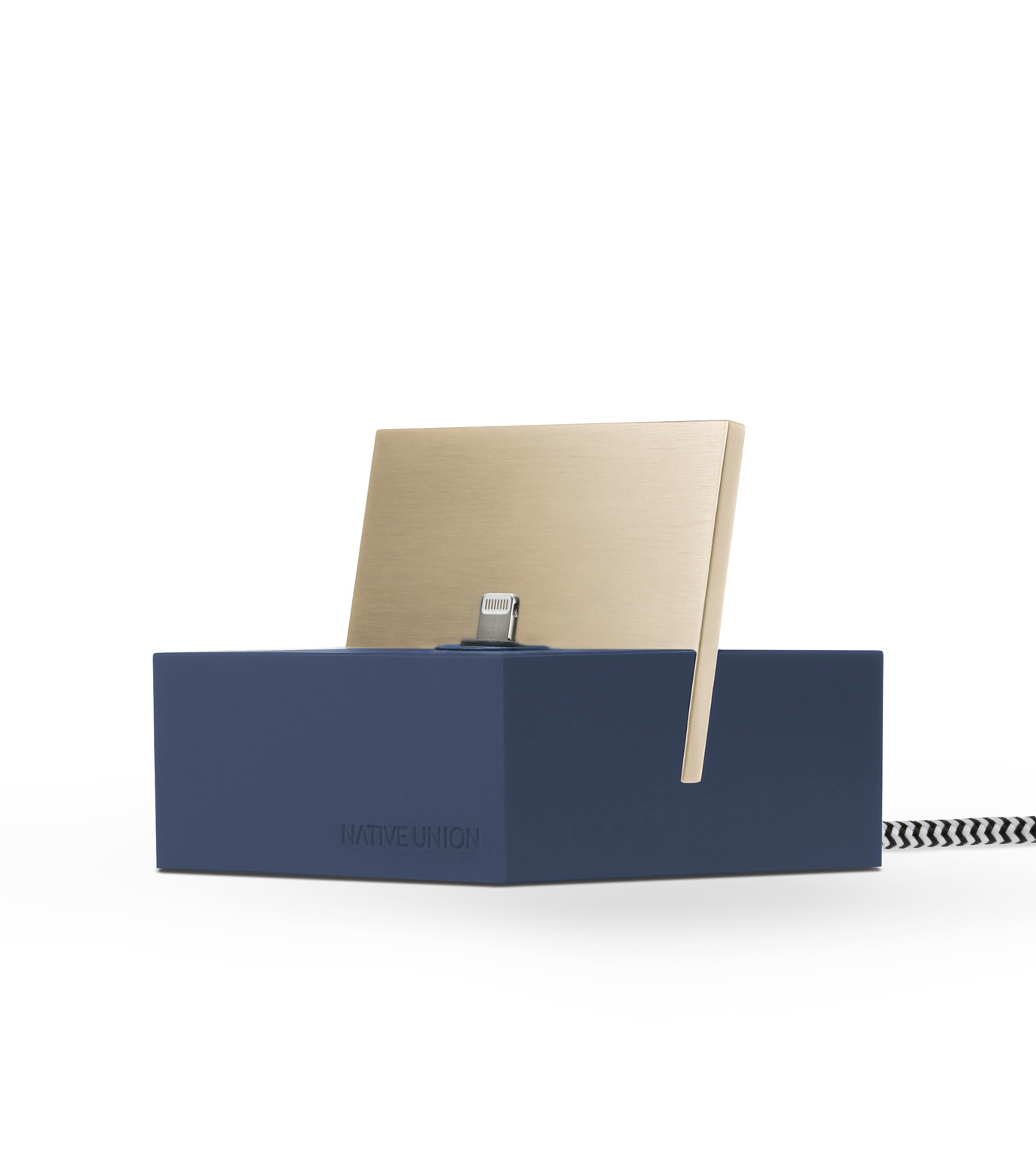 Native Union(ネイティブ ユニオン)のDOCK FOR IPHONE WITH 1.2M CABLE-MARI-NAVY(ガジェット/gadgets)-NU-DOCK-IPC4-93 拡大詳細画像2