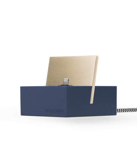 Native Union(ネイティブ ユニオン)のDOCK FOR IPHONE WITH 1.2M CABLE-MARI-NAVY(ガジェット/gadgets)-NU-DOCK-IPC4-93 詳細画像2