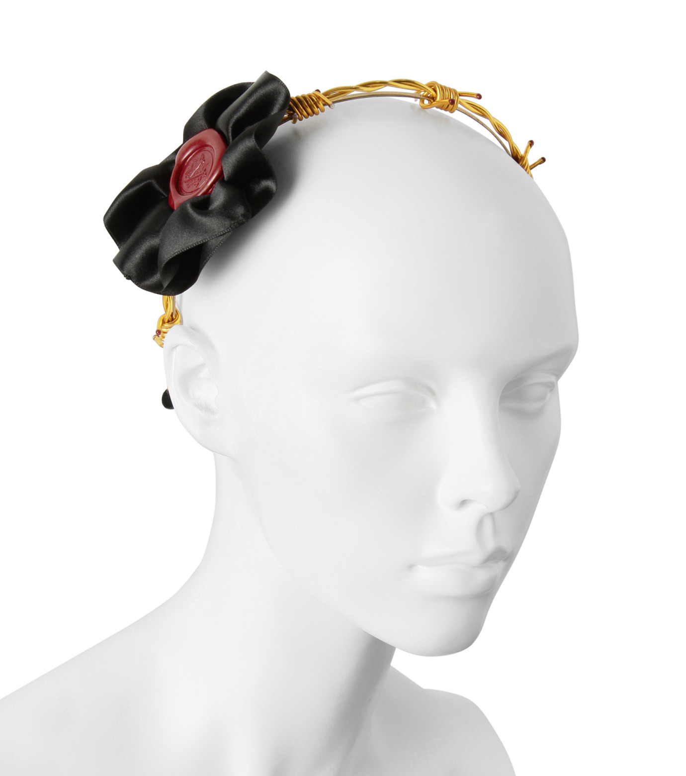 Victoria Grant(ヴィクトリア グラント)のBand of Thorns Headband-GOLD(アクセサリー/accessory)-No20-2 拡大詳細画像3