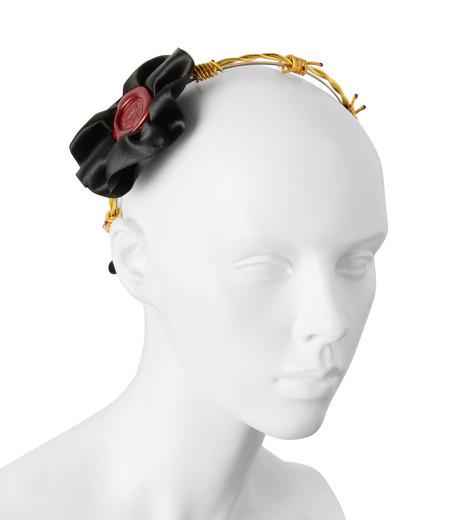 Victoria Grant(ヴィクトリア グラント)のBand of Thorns Headband-GOLD(アクセサリー/accessory)-No20-2 詳細画像3