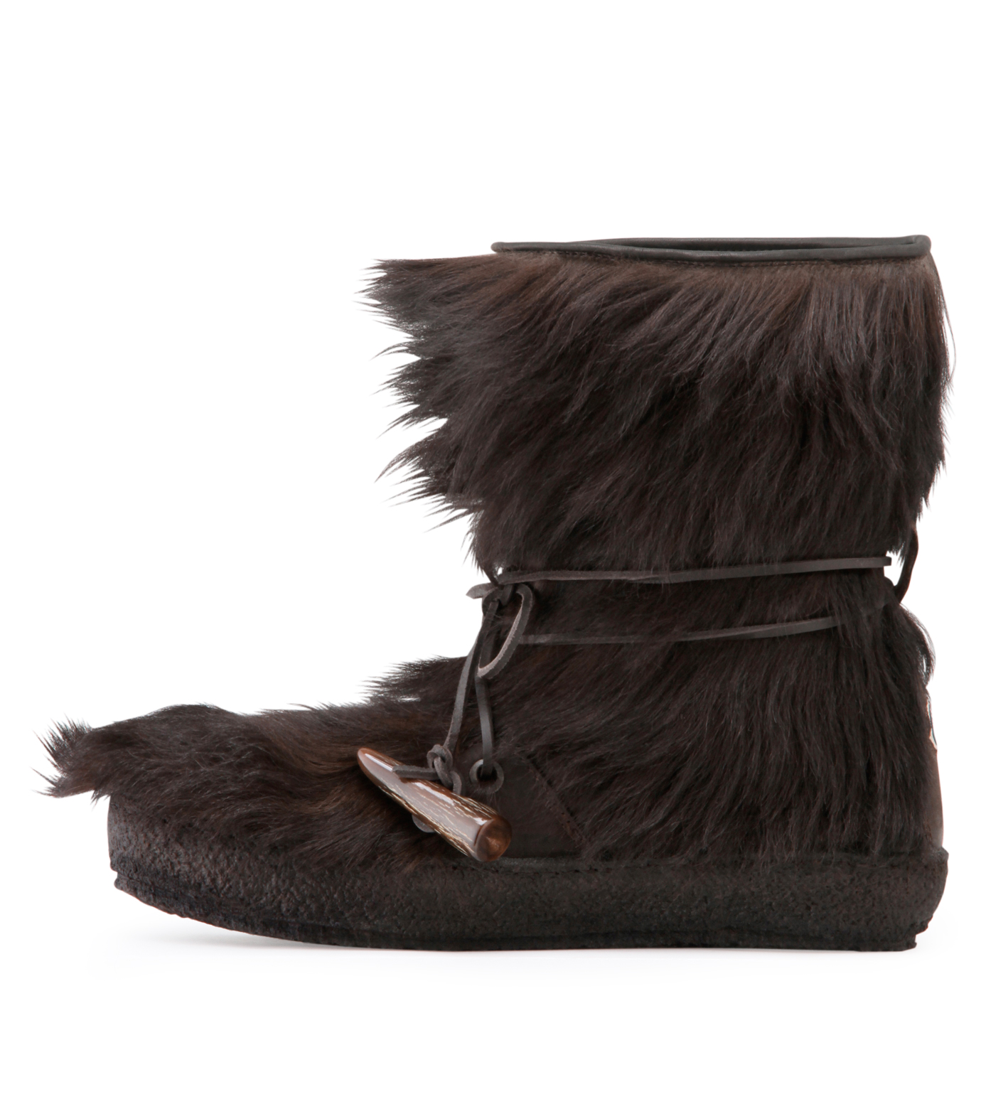 Moncler Gamme Bleu(モンクレールガムブルー)のBoots-BROWN-O0446-30-42 拡大詳細画像2