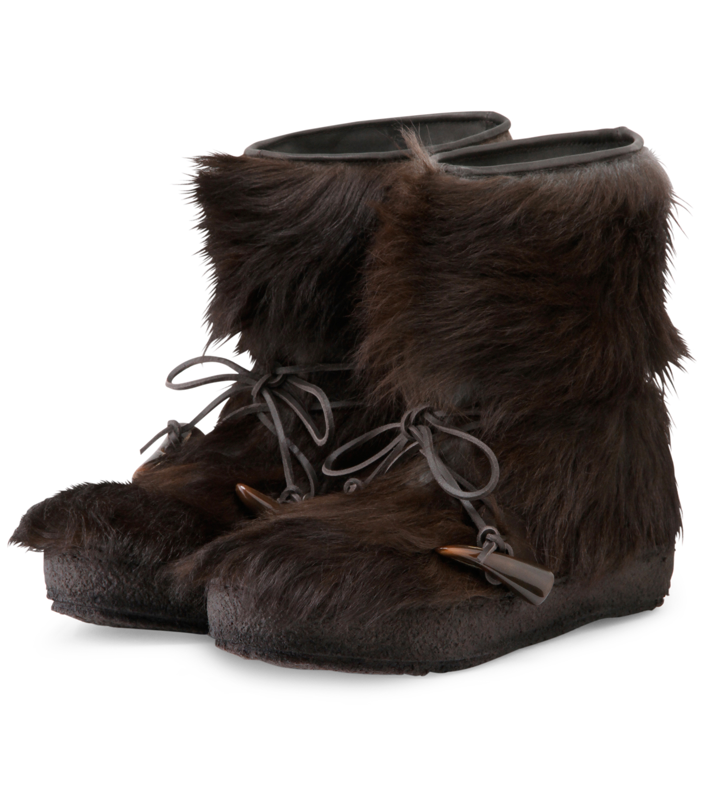 Moncler Gamme Bleu(モンクレールガムブルー)のBoots-BROWN-O0446-30-42 拡大詳細画像4