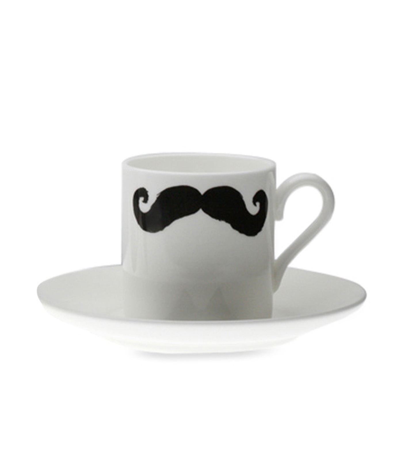 Peter Ibruegger(ピーター イーブルガ)のEspresso Cup & Saucer Maurice Poirot-WHITE(キッチン/kitchen)-O05-W-4 拡大詳細画像2