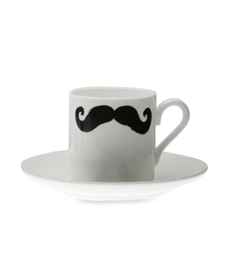 Peter Ibruegger(ピーター イーブルガ)のEspresso Cup & Saucer Maurice Poirot-WHITE(キッチン/kitchen)-O05-W-4 詳細画像2