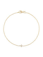 Ileana Makri Mini Cross Bracelet