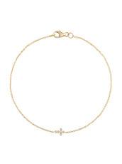 Ileana Makri(イリーナ マクリ) Mini Cross Bracelet