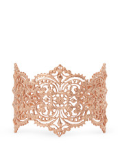 I AM by Ileana Makri Chantilly Lace Cuff