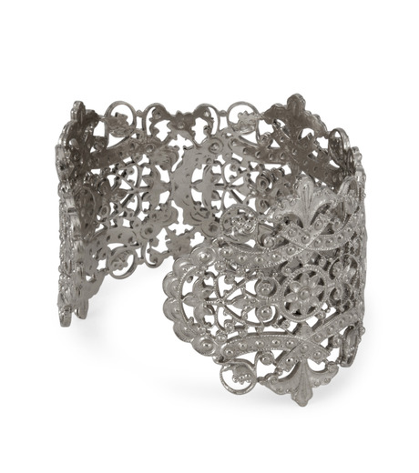 I AM by Ileana Makri(アイ アム バイ イリーナ マクリ)のAntoinette Cuff-GUNMETAL(ブレスレット/bracelet)-O239-45-099-6 詳細画像3