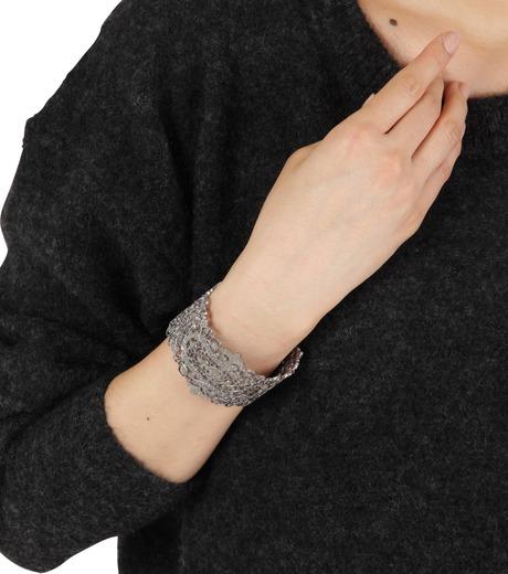 I AM by Ileana Makri(アイ アム バイ イリーナ マクリ)のAntoinette Cuff-GUNMETAL(ブレスレット/bracelet)-O239-45-099-6 詳細画像4