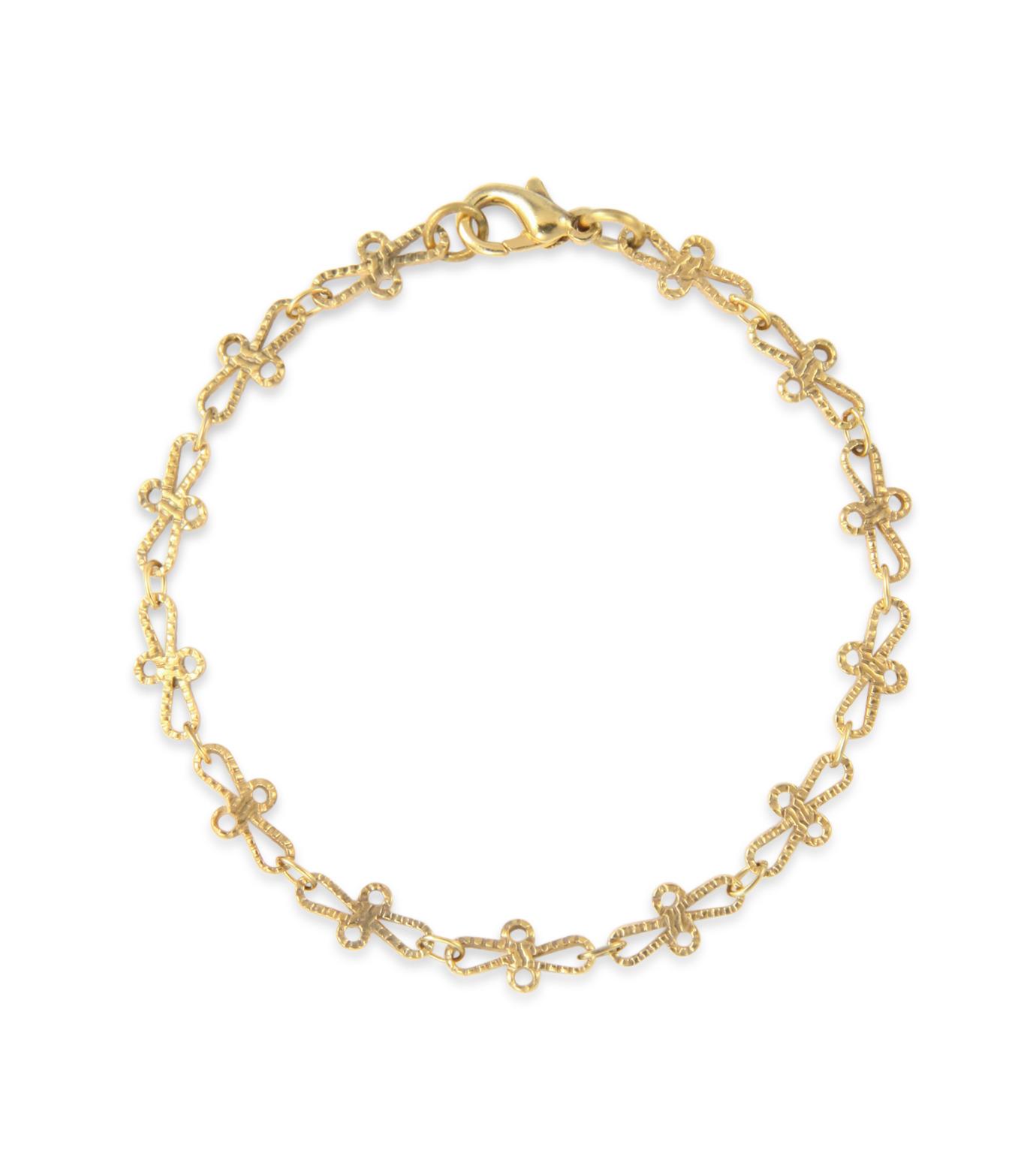 I AM by Ileana Makri(アイ アム バイ イリーナ マクリ)のTrianon Bracelet-GOLD(ブレスレット/bracelet)-O251-61-099-2 拡大詳細画像1