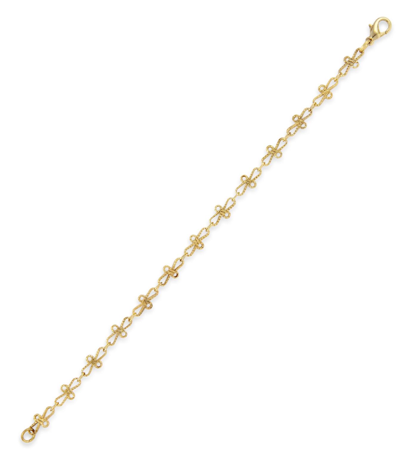 I AM by Ileana Makri(アイ アム バイ イリーナ マクリ)のTrianon Bracelet-GOLD(ブレスレット/bracelet)-O251-61-099-2 拡大詳細画像2